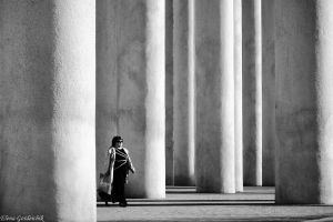 Colonnade of life by Jamurka