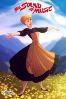 Julie Andrews - The Sound Of Music by andersonmahanski