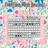 Pack TrollTime Brushes by AgusPicky