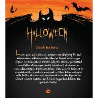 Free vector Halloween Invitation card and letterhe by cgvector