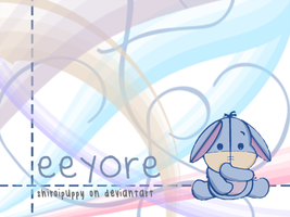 eeyore wallpaper by shiroipuppy