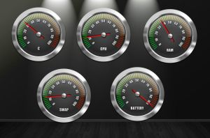 Chrome Gauges Pack for xwidget by jimking