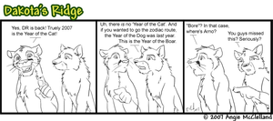 'Lost' Dakota's Ridge Comic by CarnivorousCaribou