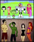 Justice swimsuits comparison. by elaina96