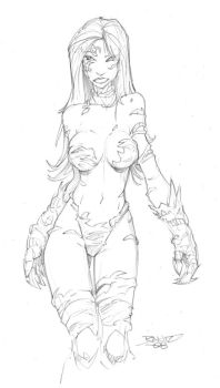 COMMISSION Witchblade by rantz