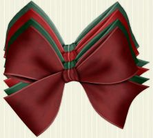 Christmas Bows 2 by PhotoImpactPixels