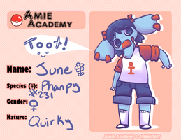 Amie-Academy - June by MissBloocat