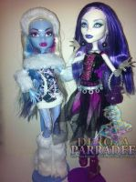 Monster High - Popular Ghouls by Chibi-Warmonger