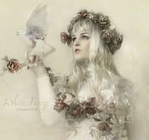 Detail of White Fairy by ROSASINMAS