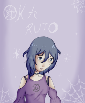 Oka Ruto [+Speedpaint] by CountessGrace