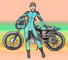 Roxanne Motorcyle Color by nimisha