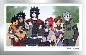 Team Sasuke + family by TwinEnigma