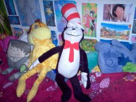 Cat in the Hat Plush by FairyGal11
