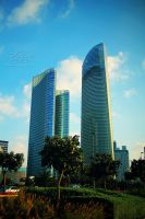 Abu Dhabi from Corniche 8 by amirajuli