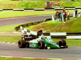 Teo Fabi (Great Britain Tyre Test 1986) by F1-history