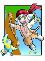 Pirate badge Freya by Zanten94