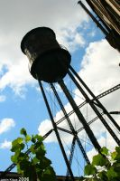 Packard Water Tower II by kudv4yn3
