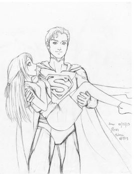 Superman Rescues an Anime Girl: On the works by HeonGaiden