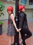 Rin and Gou by rdjass