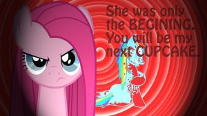 Wallpaper Pinkamena next CUPCAKE by Barrfind