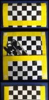 Checkerboard Clutch by DuckTapeBandit