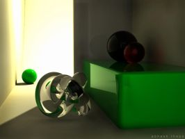 3D indoor light test by abhashthapa