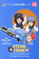 KumoriCon 2014 - Steam Train by WHPLEFCT