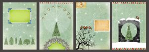 Christmas card designs 2 by Tiger-tyger