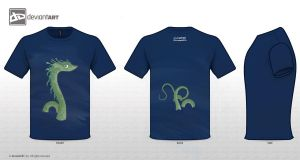 Seamonster t-shirt disign by TheSpeedroller911