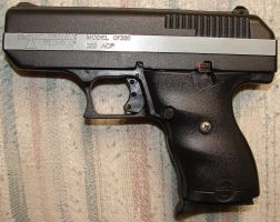 .380 Semi-Automatic Handgun by FantasyStock