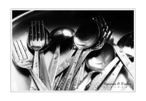 Spoons and Forks by pixiegal