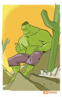 Amazing Arizona Hulk by ryancody