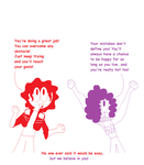 Positive self esteem Mj And Prince by LaurenKatz