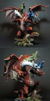 Tiamat Dragon by MrCha0s