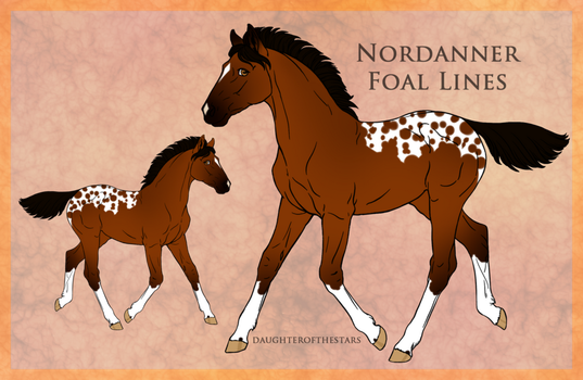 2471 Red Dead Redemption Foal Design by Remuda-Livery