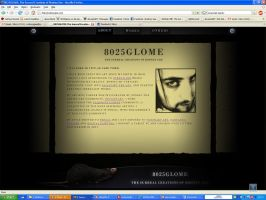 8025GLOME - the website by 8025glome
