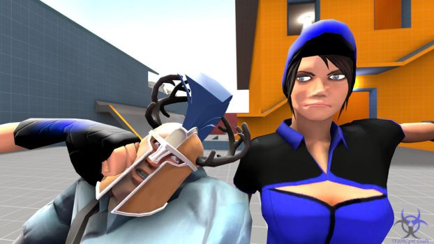 Just shut up Soldier by TF2MCgirlCraft