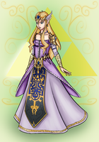 Princess Zelda Redesign by Makutus