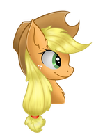 Applejack - Tablet Test by Foxdeimos