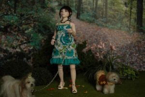 My first 1/12 scale bjd by carine-cote