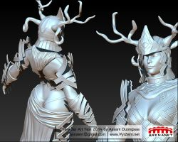 Character Art Test 2014 Sculpt by PyrZern