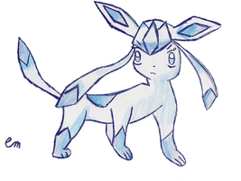 Glaceon :3 by emachel