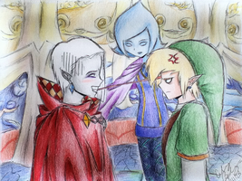 Ghirahim's Problem by NocturnalSonata