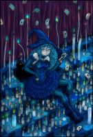 Little Blue Witch:. by MaGeXP