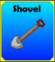 Shovel Item Card by Dianamond