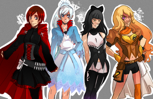 RWBY by ThousandBraver