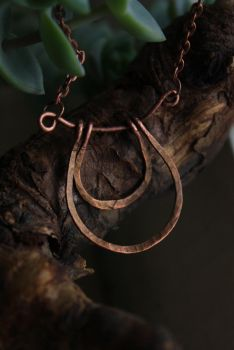 Horseshoe - wire wrapped pendant by Altawista