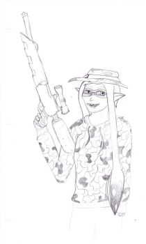 Squiddo by RedFeatherEagle