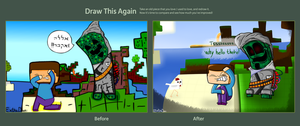Draw this again Entry: Terrorist Creeper. by Extra-Dan