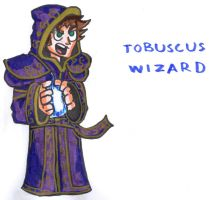 Tobuscus Wizard by YouCanDrawIt